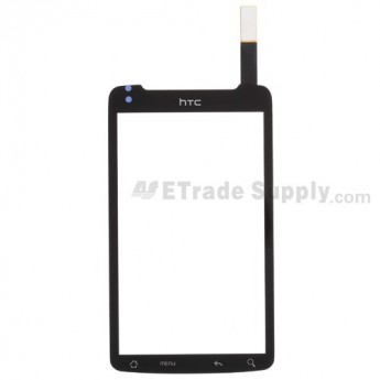For HTC Desire Z Digitizer Touch Screen without Adhesive  Replacement ,With Logo - Grade S+