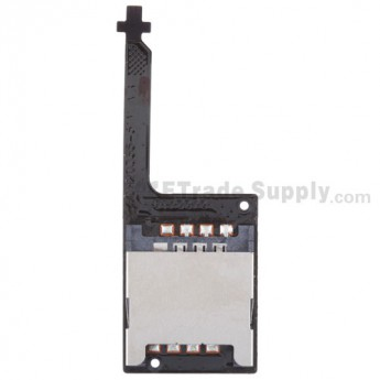 For HTC Droid Incredible 2 SIM Card Reader Flex Cable Ribbon  Replacement - Grade S+