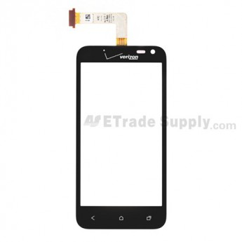 For HTC Droid Incredible 4G LTE Digitizer Touch Panel Replacement - With Logo - Grade S+