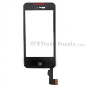 For HTC Droid Incredible Digitizer Touch Screen with Front Housing Replacement (Verizon Wireless) - Grade S+