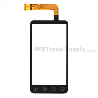 For HTC EVO 3D Digitizer Touch Screen without Adhesive Replacement (HTC) - Grade S+