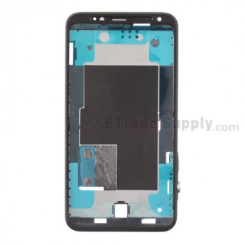 For HTC EVO 3D Front Housing Replacement (Sprint) ,Black - Grade S+