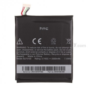 For HTC EVO 4G LTE Battery  Replacement (BJ75100, 2000mAh) - Grade S+