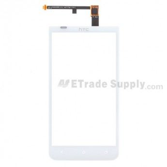 For HTC EVO 4G LTE Digitizer Touch Panel Replacement ,White, Golden Wire - Grade S+