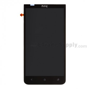 For HTC EVO 4G LTE LCD Screen and Digitizer Assembly without Light Guide  Replacement ,Black - Grade S+