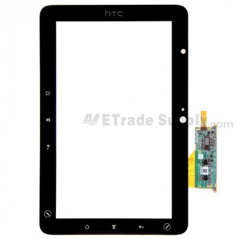 For HTC Flyer Digitizer Touch Screen without Adhesive Replacement - Grade S+