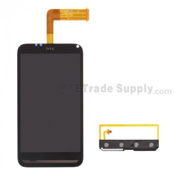 For HTC Incredible S LCD Screen and Digitizer Assembly Replacement - Without Logo - Grade S+