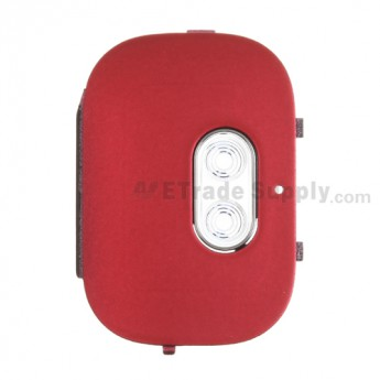 For HTC Inspire 4G Camera Flash Cover Replacement ,Red - Grade S+