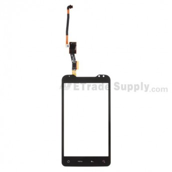 For HTC Merge Digitizer Touch Screen without Adhesive Replacement (Cellular South) - Grade S+