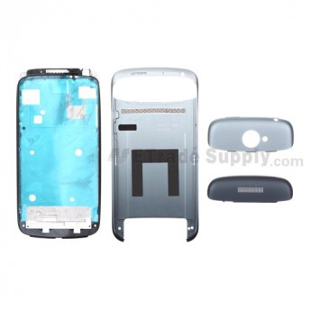 For HTC One S Complete Housing Replacement(T-Mobile) - Gray - Grade S+