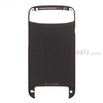 For HTC One S Rear Housing Replacement (T-Mobile) ,Black - Grade S+