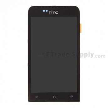 For HTC One V LCD Screen and Digitizer Assembly with Front Housing and Light Guide Replacement - Grade S+
