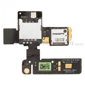 For HTC One V SIM Card and SD Card Reader Contact Replacement - Grade S+