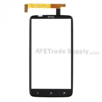 For HTC One X Digitizer Touch Panel Replacement (With Logo) - Grade S+