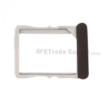 For HTC One X SIM Card Tray  Replacement (HTC) ,Black - Grade S+
