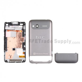 For HTC Radar Housing Replacement - Gray - Grade S+