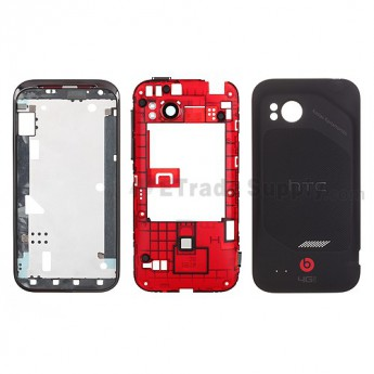 For HTC Rezound Housing (Special Edition) Replacement - With Logo - Grade S+