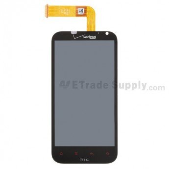 For HTC Rezound LCD Screen and Digitizer Assembly Replacement (Verizon Wireless) - Grade A