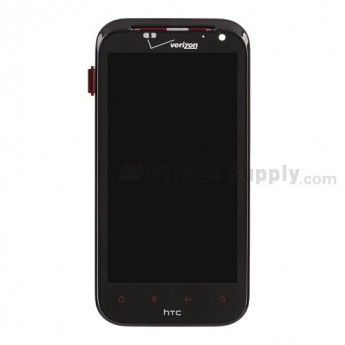 For HTC Rezound LCD Screen and Digitizer Assembly with Front Housing Replacement (Verizon Wireless) - Grade S+