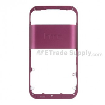 For HTC Rhyme Front Housing Replacement ,Purple - Grade S+