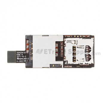 For HTC Rhyme SIM Card and SD Card Reader Contact Replacement - Grade S+