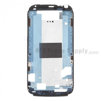 For HTC Sensation 4G Front Housing Replacement (T-Mobile) - Black - Grade A