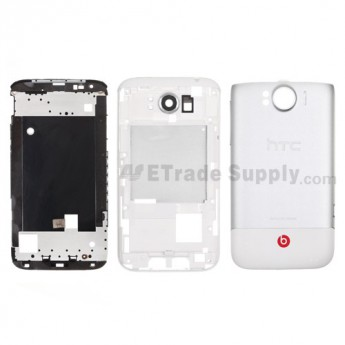For HTC Sensation XL Housing Replacement - White - Grade S+