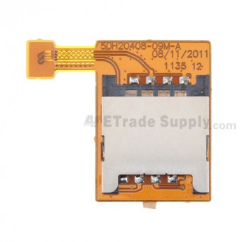 For HTC Sensation XL SIM Card Reader Contact Replacement - Grade S+