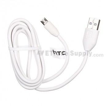 For HTC Sensation XL USB Cable ,White - Grade S+
