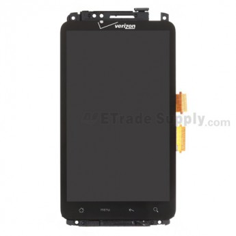 For HTC Thunderbolt LCD Screen and Digitizer Assembly with Front Housing Replacement (Verizon Wireless) - Grade A