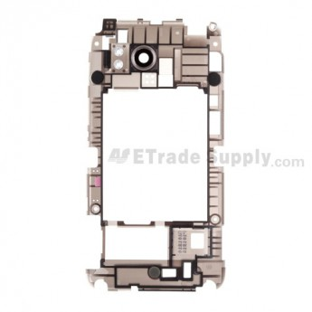 For HTC Thunderbolt Middle Plate Replacement (Verizon Wireless) - Grade S+