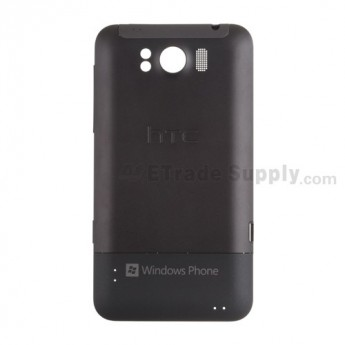 For HTC Titan Battery Door Replacement (AT&T) - Black - Grade S+