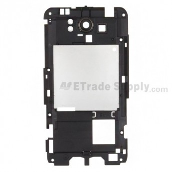 For HTC Titan Rear Housing Replacement - Black - Grade S+