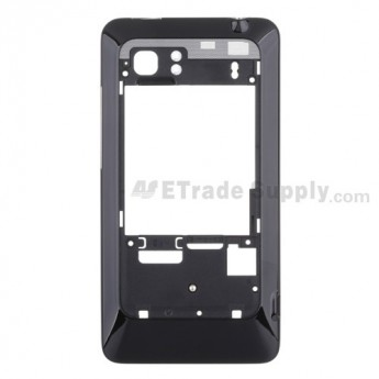 For HTC Vivid Rear Housing Replacement - Black - Grade S+