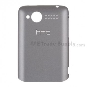 For HTC Wildfire Battery Door Replacement (Cellular South) ,Gray - Grade S+