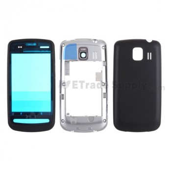For LG Vortex VS660 Housing Replacement - Black - Grade S+