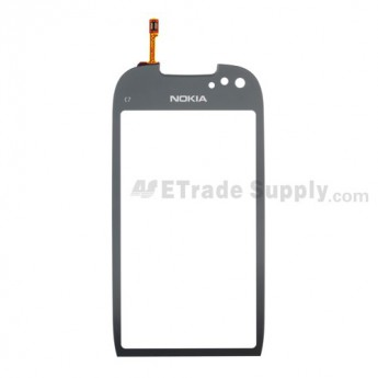 For Nokia C7 Digitizer Touch Screen Replacement - Grade S+
