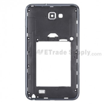 For Samsung Galaxy Note GT-N7000/GT-I9220 Rear Housing Replacement - Black - Grade S+