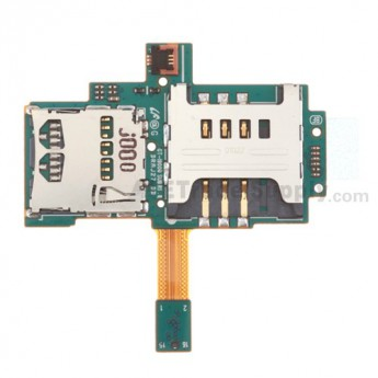 For Samsung Galaxy S GT-i9000 SIM Card and SD Card Flex Cable Ribbon Replacement - Grade S+