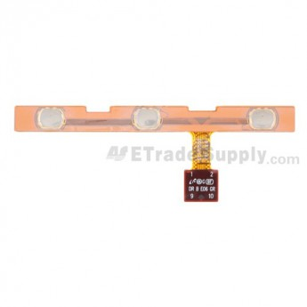 For Samsung Galaxy Tab 10.1 GT-P7510 Power Button Flex Cable Ribbon  Replacement - Grade S+