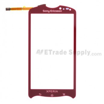 For Sony Ericsson Xperia Pro MK16i Digitizer Touch Screen Replacement - Silver - Grade S+