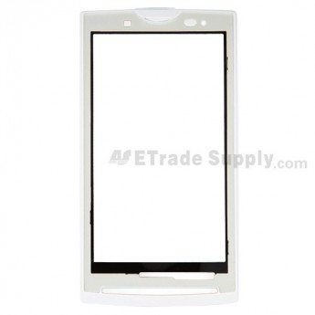 For Sony Ericsson Xperia X10 Front Housing Replacement - White - Grade S+