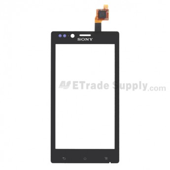 For Sony Xperia J ST26i Digitizer Touch Screen Replacement - Grade S+