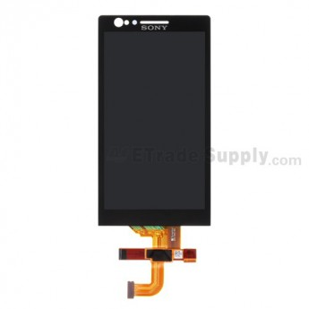 For Sony Xperia P LT22i LCD Screen and Digitizer Assembly Replacement - Grade S+