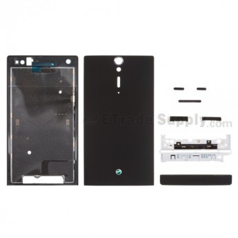 For Sony Xperia S LT26i Housing Replacement ,Black - Grade S+