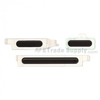 For Sony Xperia S LT26i Side Key Replacement - Black - Grade S+