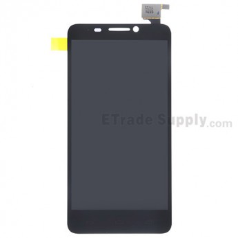 For Alcatel One Touch Idol OT-6030D LCD Screen and Digitizer Assembly Replacement - Black - Without Any Logo - Grade S+