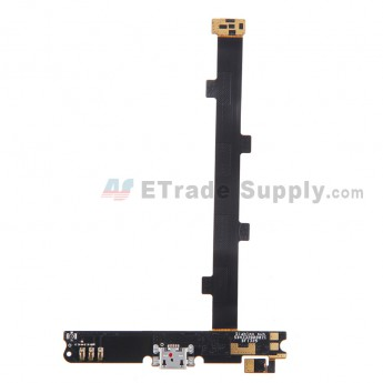For Alcatel One Touch Idol X OT-6040D Navigator Flex Cable Ribbon with Charging Port Replacement - Grade S+