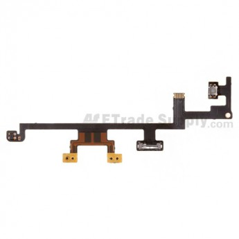 For Apple iPad 4 Power Button Flex Cable Ribbon  Replacement - Grade S+