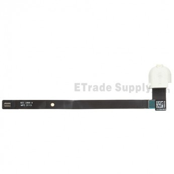 For Apple iPad Air Audio Flex Cable Ribbon  Replacement (Wifi Version) - White - Grade S+
